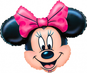 Шар Фигура, Минни Маус Голова / Minnie Mouse Head (в упаковке)